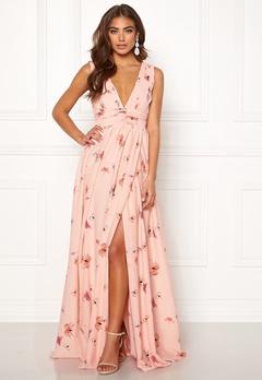 BUBBLEROOM Carolina Gynning Butterfly gown  Light pink / Patterned Bubbleroom.fi