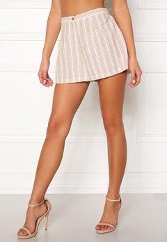 BUBBLEROOM Chiselle shorts Beige / Striped Bubbleroom.fi