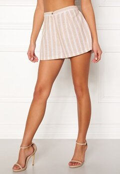 BUBBLEROOM Chiselle shorts Beige / White / Striped Bubbleroom.fi