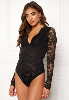 BUBBLEROOM Demi lace body Black Bubbleroom.fi