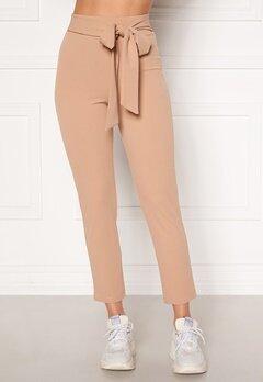 BUBBLEROOM Dilara straight leg trousers Beige Bubbleroom.fi