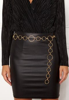 BUBBLEROOM Ella chain belt Gold Bubbleroom.fi