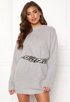 BUBBLEROOM Elsie knitted sweater Grey Bubbleroom.fi