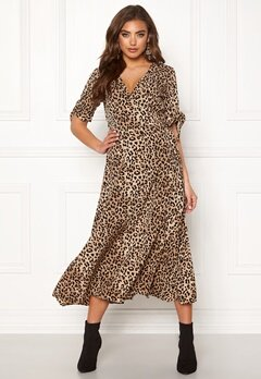 BUBBLEROOM Emma dress Leopard Bubbleroom.fi