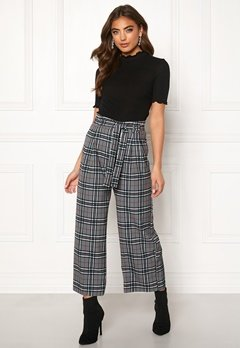 BUBBLEROOM Felicia trousers Grey / Checked Bubbleroom.fi