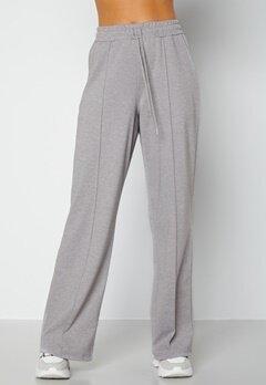 BUBBLEROOM Heiden soft sweat pants Grey melange bubbleroom.fi