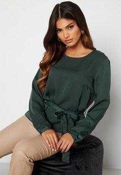BUBBLEROOM Hortense blouse Green bubbleroom.fi