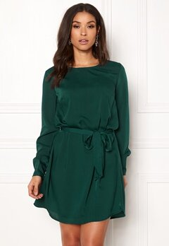 BUBBLEROOM Hortense dress Dark green Bubbleroom.fi