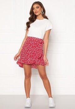 BUBBLEROOM Ida skirt Red / White / Floral Bubbleroom.fi