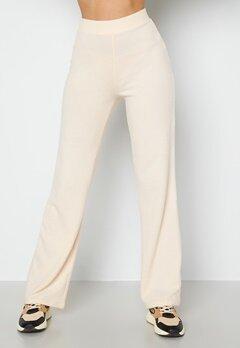 BUBBLEROOM Iliza soft trousers Cream bubbleroom.fi