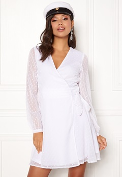 BUBBLEROOM Ilse wrap dress  Bubbleroom.fi