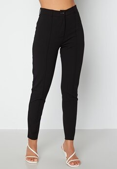 BUBBLEROOM Joanna soft slim leg trousers Black bubbleroom.fi