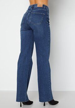 BUBBLEROOM June raw edge jeans Dark denim bubbleroom.fi