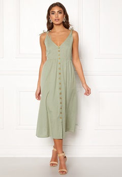 BUBBLEROOM Lacie dress Olive green Bubbleroom.fi