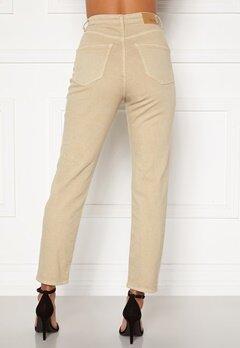 BUBBLEROOM Lana high waist jeans Beige Bubbleroom.fi