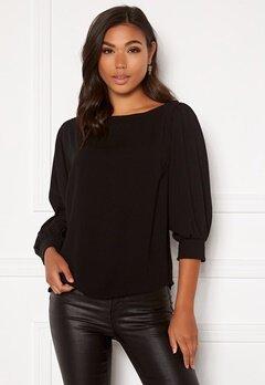 BUBBLEROOM Lavina blouse Black Bubbleroom.fi