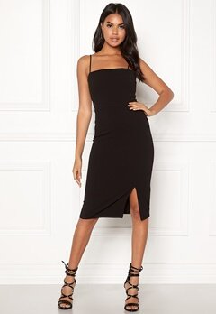 BUBBLEROOM Lene bodycon dress Black Bubbleroom.fi