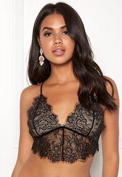 BUBBLEROOM Lene lace bra Black / Beige Bubbleroom.fi