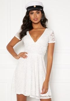 BUBBLEROOM Lexi lace dress White Bubbleroom.fi