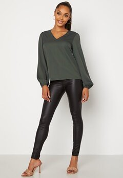 BUBBLEROOM Lexine blouse Green bubbleroom.fi