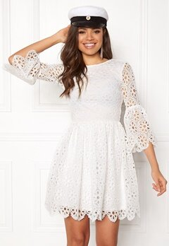 BUBBLEROOM Litzy Dress White Bubbleroom.fi