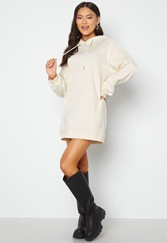 BUBBLEROOM Lorena sweat dress Offwhite bubbleroom.fi