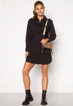 BUBBLEROOM Lorina shirt dress Black Bubbleroom.fi