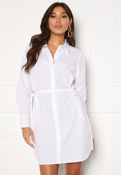 BUBBLEROOM Lorina shirt dress White Bubbleroom.fi