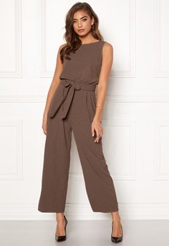 BUBBLEROOM Lotta jumpsuit Light brown Bubbleroom.fi