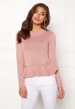 BUBBLEROOM Lova knitted sweater Dusty pink Bubbleroom.fi