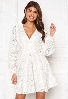 BUBBLEROOM Lykke lace dress White Bubbleroom.fi