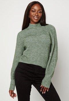BUBBLEROOM Madina knitted sweater Green bubbleroom.fi