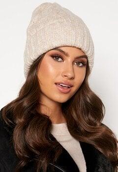BUBBLEROOM Malin knitted hat Beige bubbleroom.fi