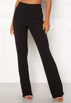 BUBBLEROOM Marianna comfy suit trousers Black Bubbleroom.fi