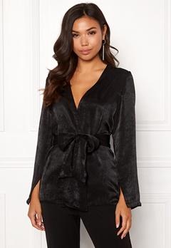 BUBBLEROOM Marianna blazer blouse Black Bubbleroom.fi