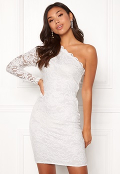 BUBBLEROOM Marianna lace one shoulder dress  Bubbleroom.fi