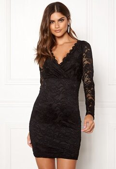 BUBBLEROOM Martha lace dress Black Bubbleroom.fi