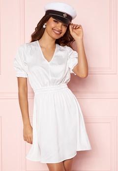 BUBBLEROOM Mayra Puff Sleeve Dress White Bubbleroom.fi