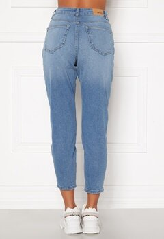 BUBBLEROOM Melinda mom jeans  Light denim Bubbleroom.fi