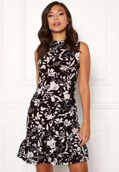 BUBBLEROOM Minelle dress Black / White / Patterned Bubbleroom.fi