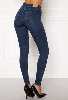BUBBLEROOM Miranda Push-up jeans Medium blue Bubbleroom.fi