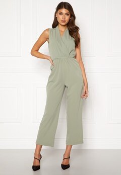 BUBBLEROOM Mirja jumpsuit Dusty green Bubbleroom.fi