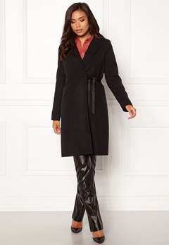 BUBBLEROOM Molly classic coat Black Bubbleroom.fi