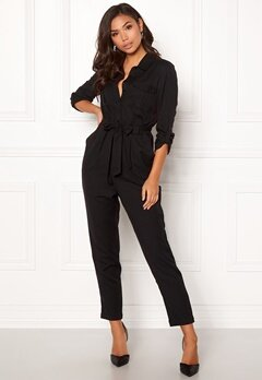 BUBBLEROOM Molly jumpsuit Black Bubbleroom.fi