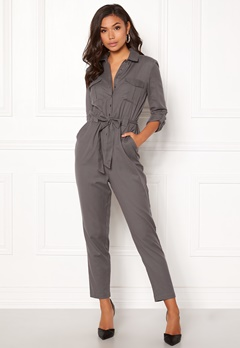 BUBBLEROOM Molly jumpsuit Dark grey Bubbleroom.fi