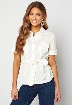 BUBBLEROOM Mya shirt blouse Offwhite bubbleroom.fi