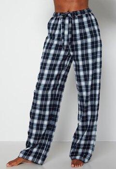 BUBBLEROOM Naya flannel pants Blue / White / Checked bubbleroom.fi