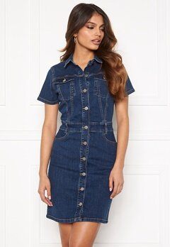 BUBBLEROOM Odina denim dress Medium denim Bubbleroom.fi