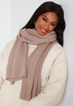 BUBBLEROOM Ofelia knitted scarf Dark dusty pink bubbleroom.fi