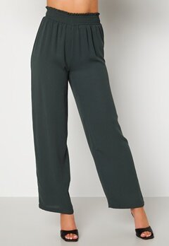 BUBBLEROOM Osita trousers Dark green Bubbleroom.fi
